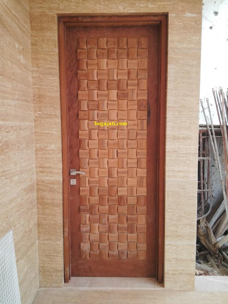 Kusen dan Pintu Kayu Merbau