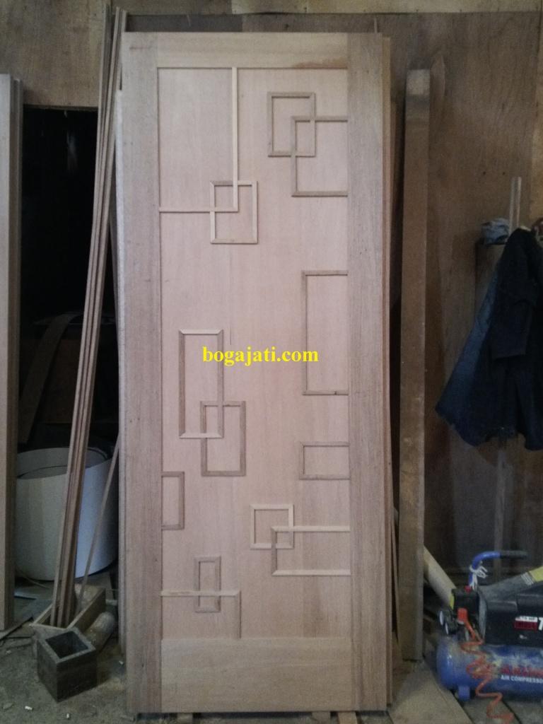Pintu Kamar Motif Minimalis