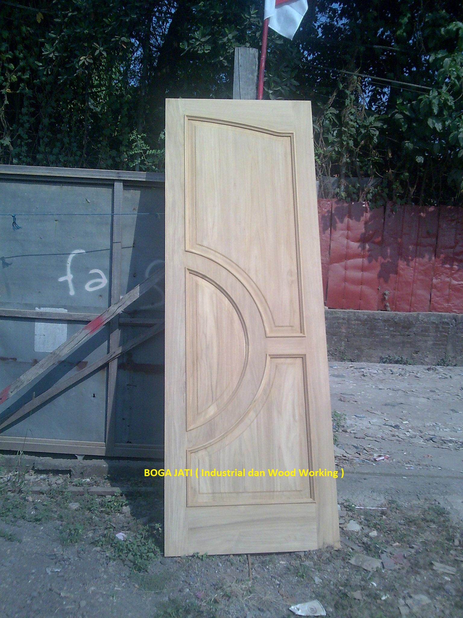 Pintu Kayu Jati Blora