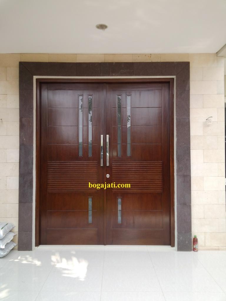 Pintu Utama Kayu Solid