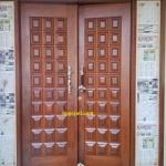 Pintu Panel Kayu Merbau Oven