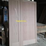 pintu minimalis kayu kamper