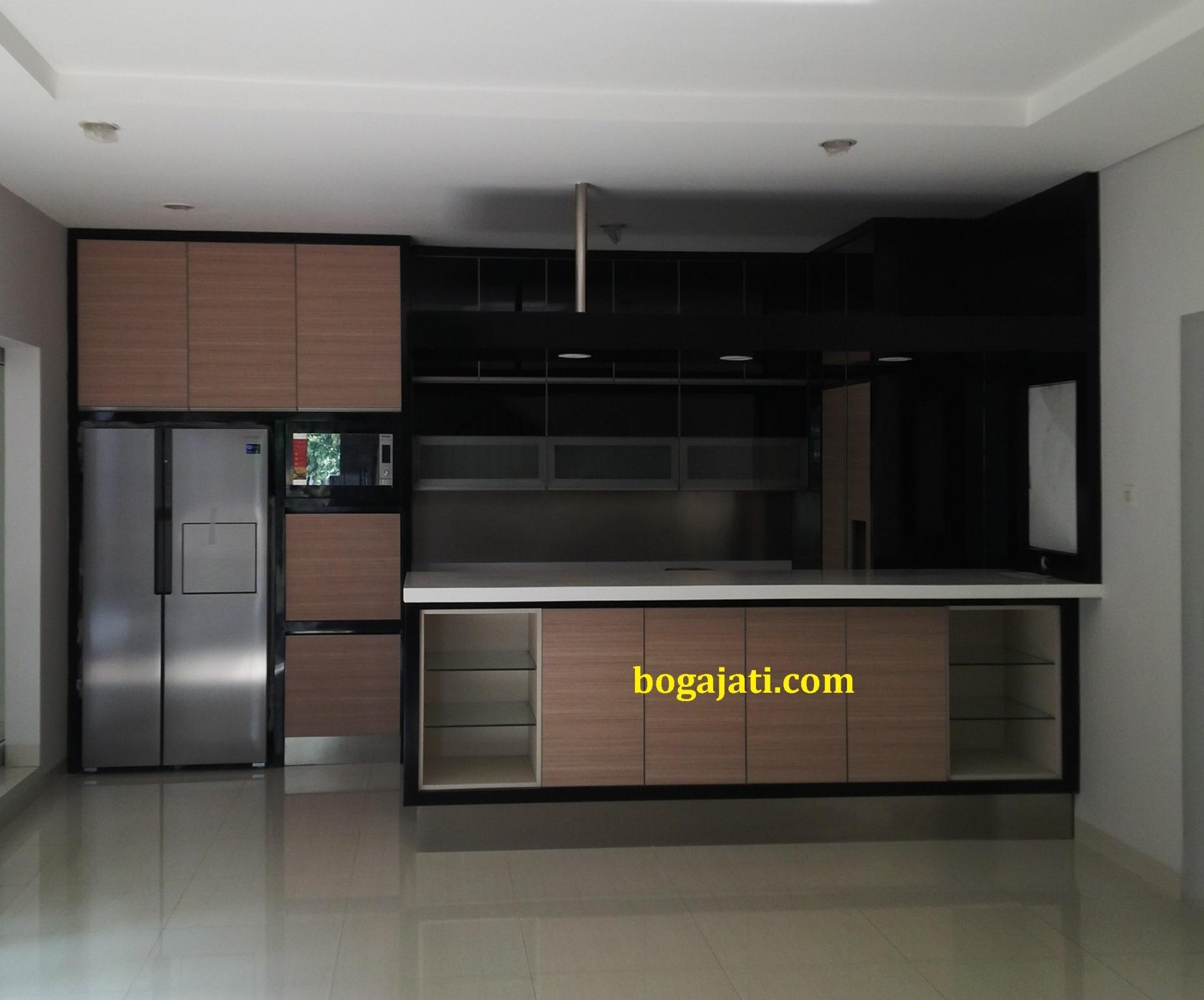Kitchen set lapis hpl pk boga jati