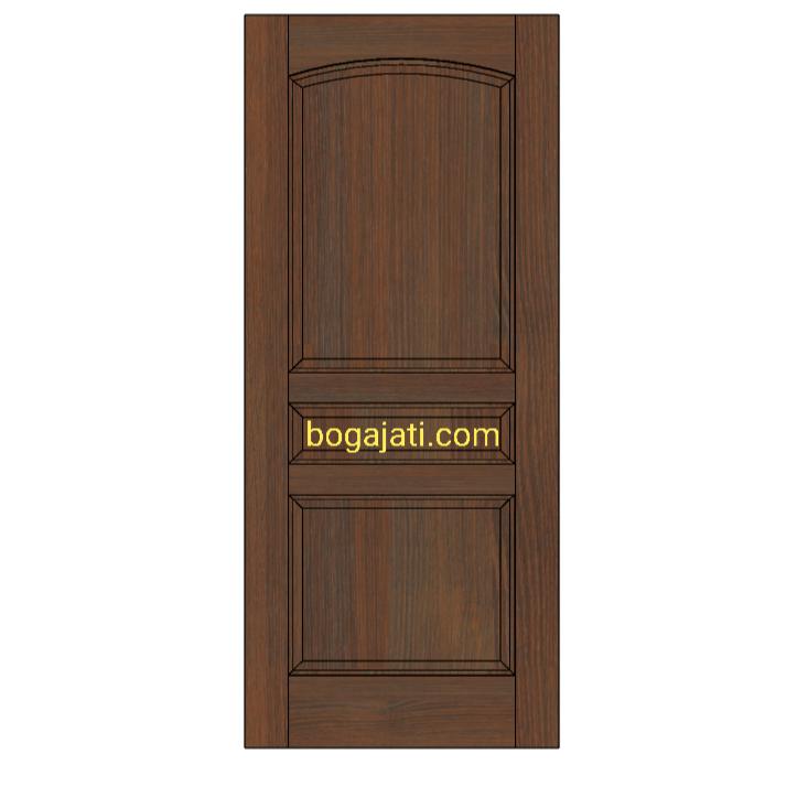 Pintu Kayu Motif Klasik