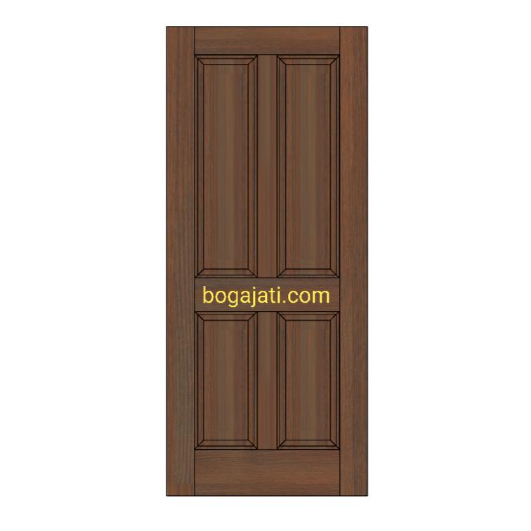 Pintu Kayu Meranti Oven