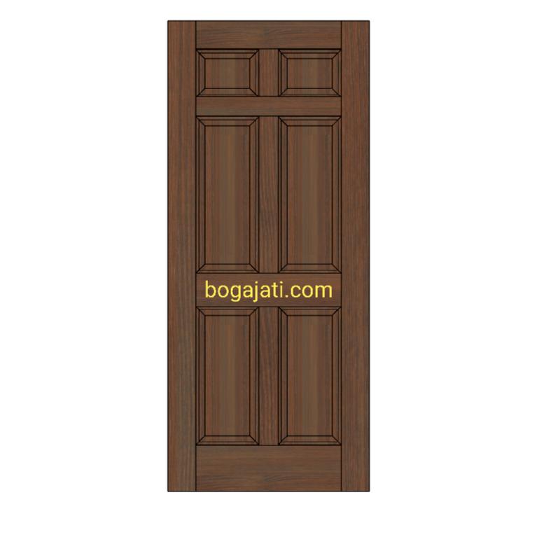 Pintu kayu Merbau Oven