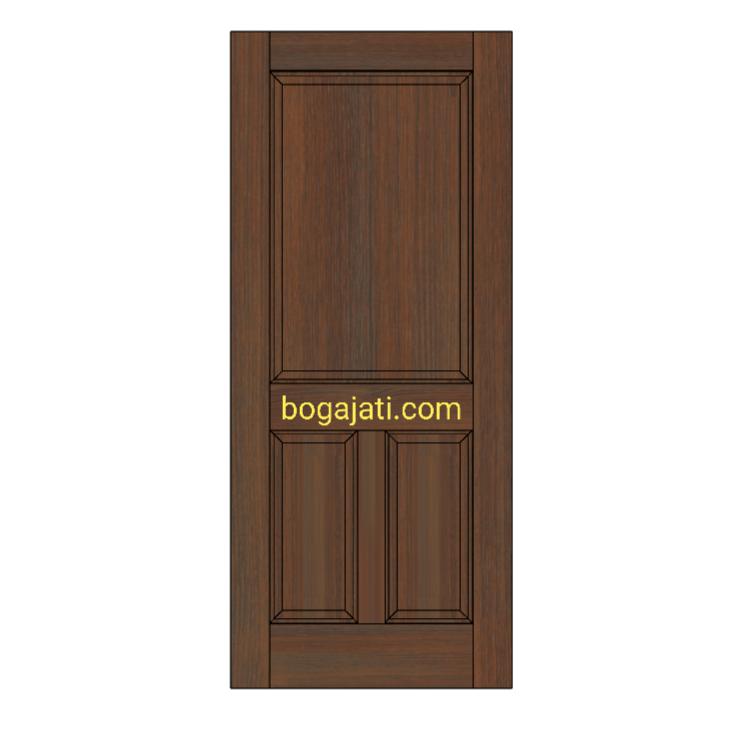 Pintu Panel Kayu Solid