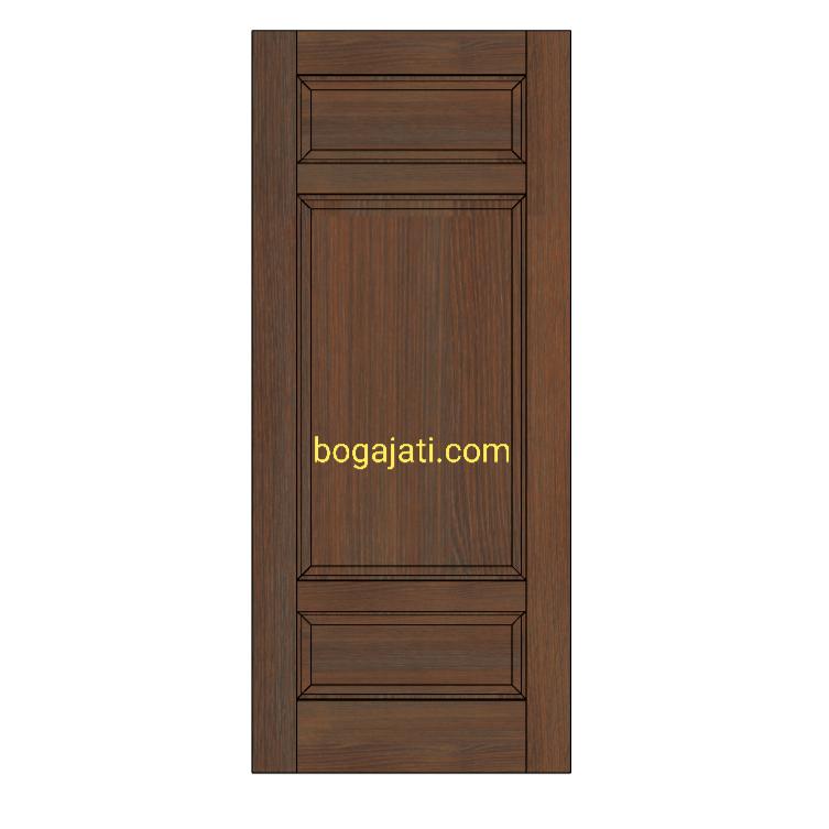Pintu Kayu Minimalis Modern