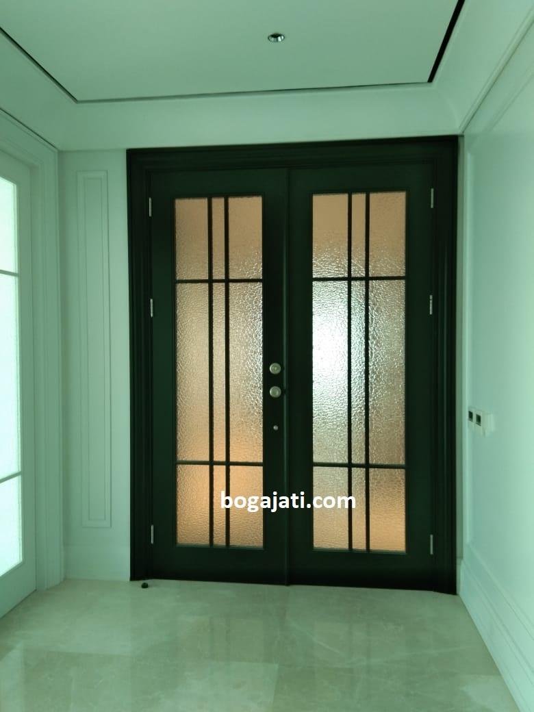 Pintu Kayu Jati Oven