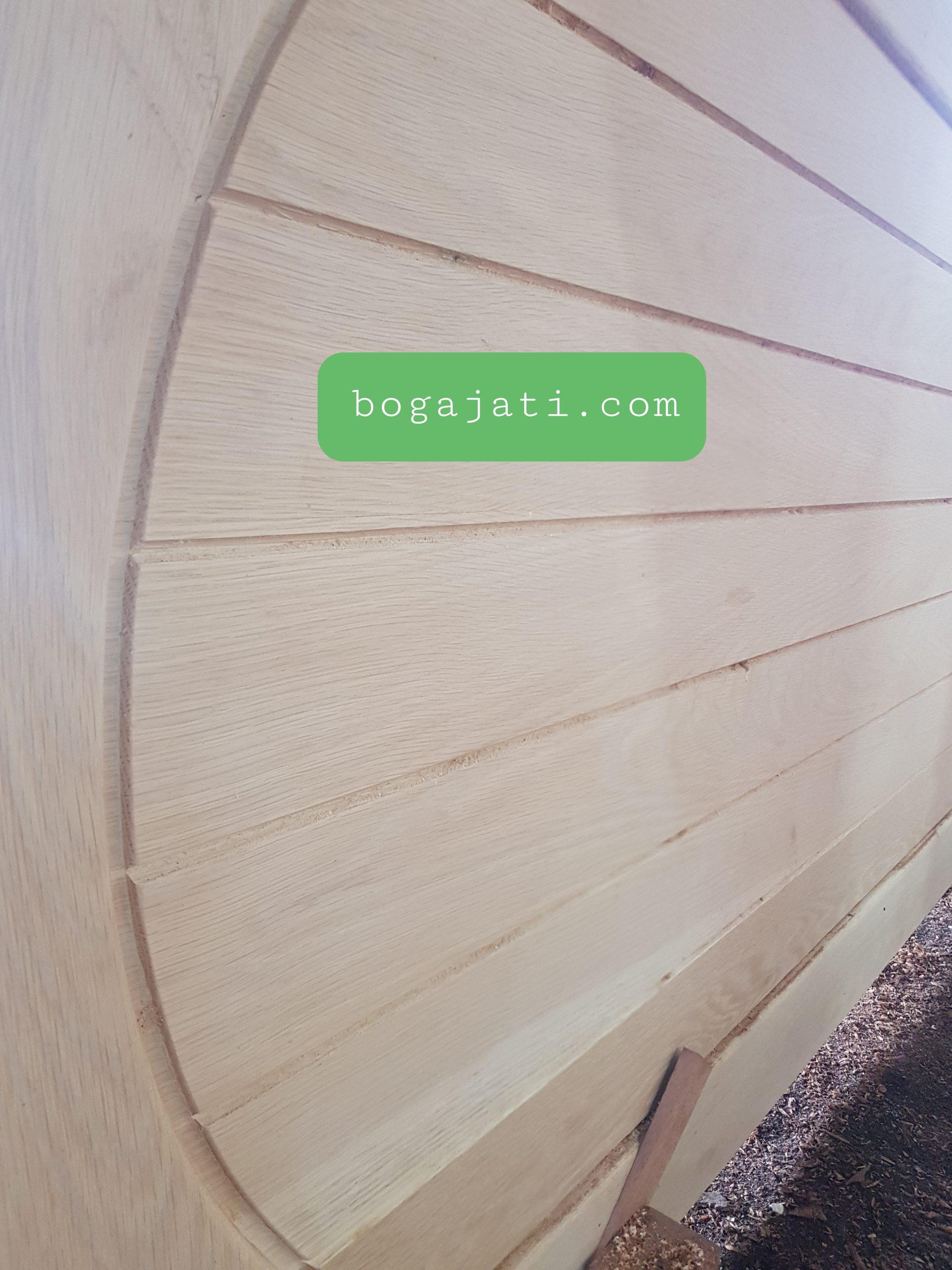 Pintu Merbau Lapis White Oak