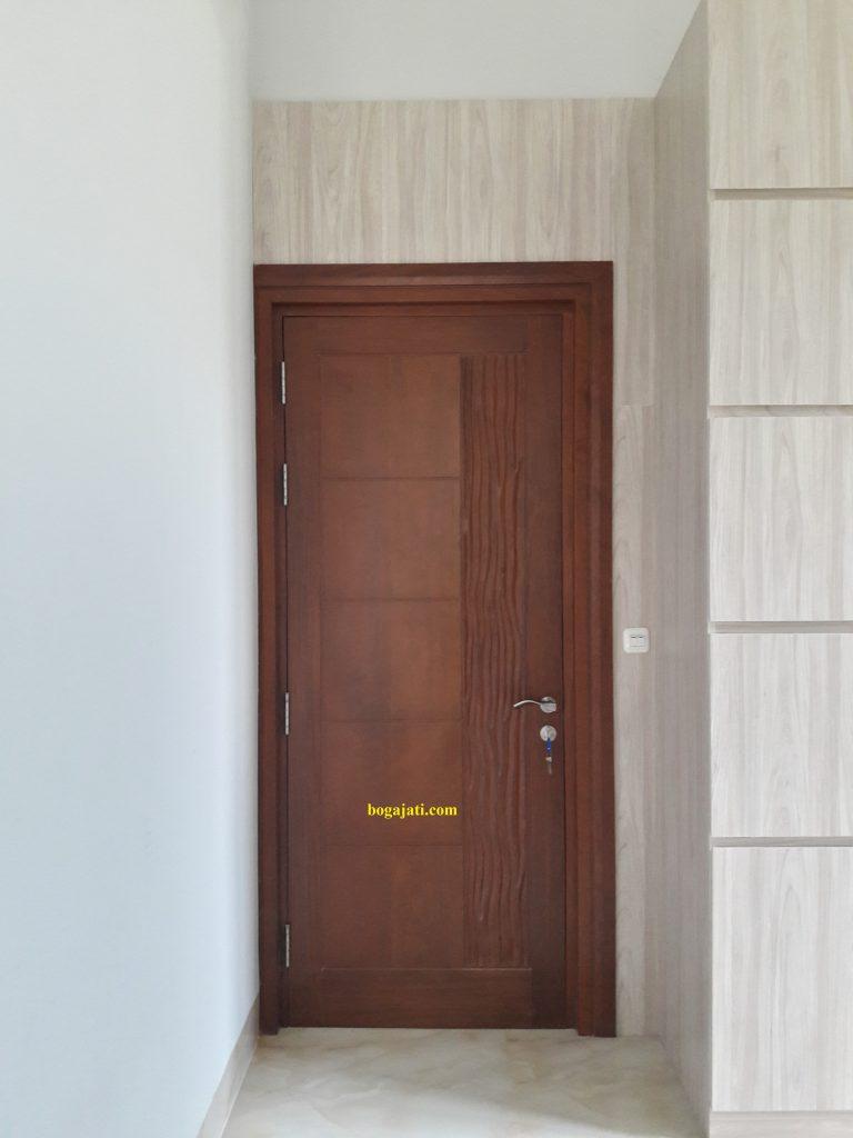 Pintu ukir Kayu Merbau Oven